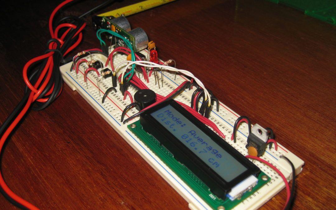 Sensor de distancia ultrasónico SRF05 con PIC y CCS