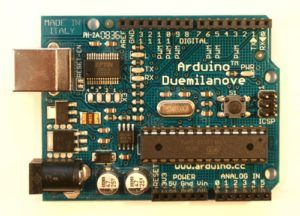 Arduino Duemilanove, la nueva version de la placa arduino.
