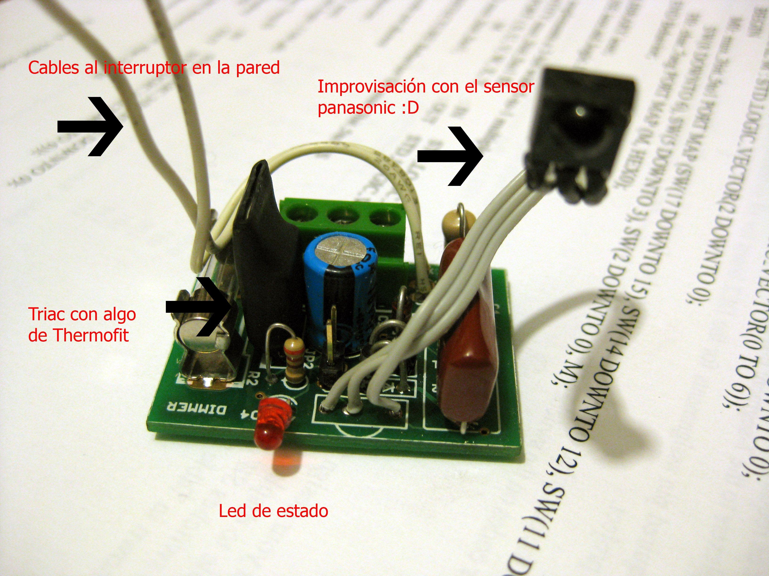 Conexiones y partes del prototipo
