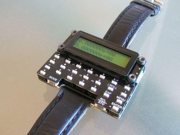 uWatch Reloj calculadora de pulsera DIY