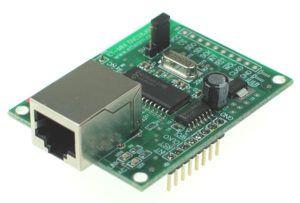 Tarjeta de desarrollo basada en el ENC28J60