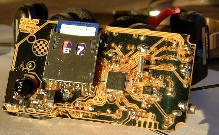 TRAXMOD Reproductor de Archivos MOD portatíl