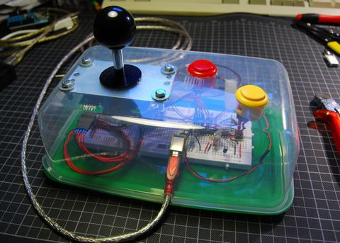 Control arcade casero por USB (maquinita)