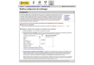 El 2Wire tiene de fábrica una regla de firewall para permitir el paso de paquetes a un servidor web en el puerto 80
