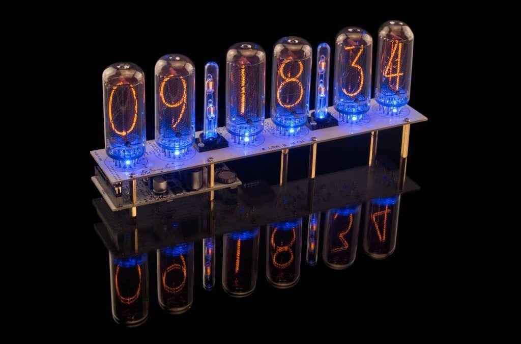 Reloj con tubos Nixie y protocolo NTP