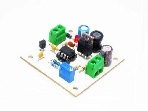 Convertidor Boost con circuito integrado 555