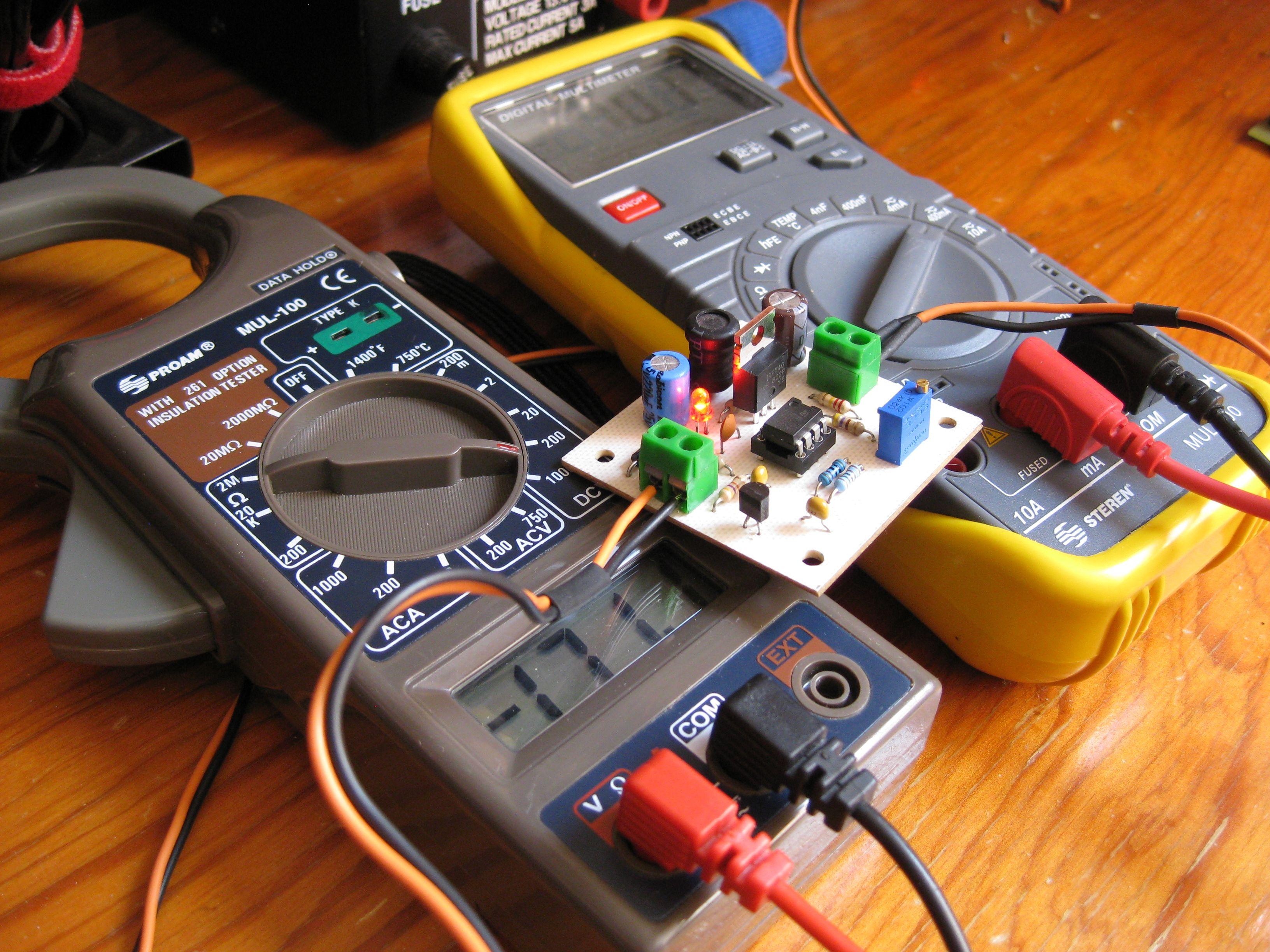 Circuito Boost : Convertidor boost con circuito integrado geek factory