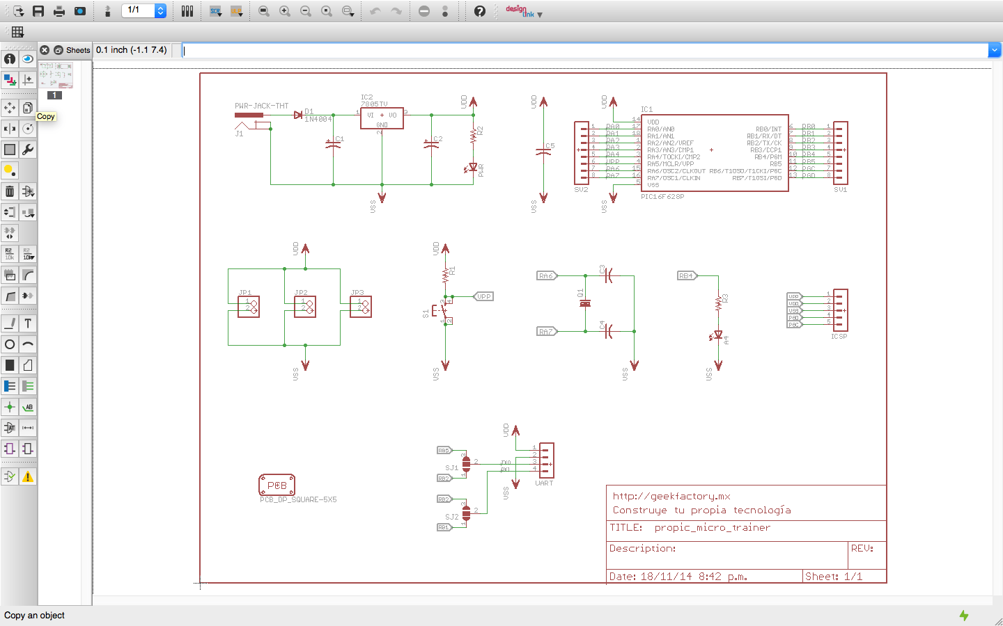 Awesome Eagle From Cadsoft Ideas - The Best Electrical Circuit ...