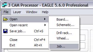 """Cargamos el archivo .cam que configura el """"CAM Processor"""""""