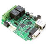Nodo ethernet 10/100 basado en un microcontrolador PIC24HJ y el ENC424J600