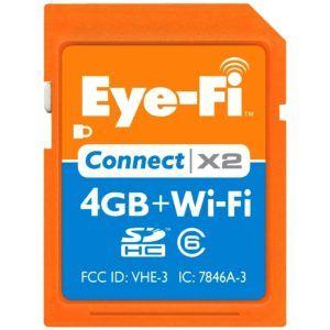 Tarjeta SD con 4 GB de almacenamiento y Wifi para transferir fotografías