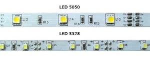 Comparación entre leds PLCC 5050 y 3528