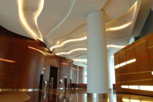 Iluminación de interiores con tiras de led.