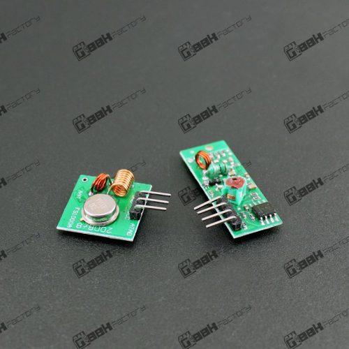 Kit Modulos RF 315 Mhz Ask Transmisor y Receptor