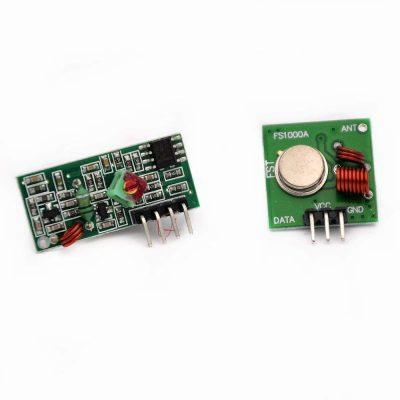 Kit módulos RF 433 MHz ASK transmisor y receptor