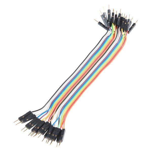 Cable dupont macho macho 20 centímetros