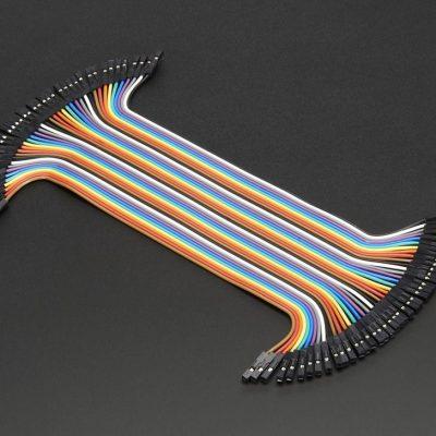 cable dupont hembra hembra 20 centimetros