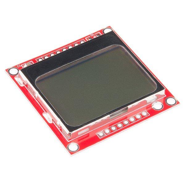 LCD Nokia 5110 o 3310 pantalla gráfica