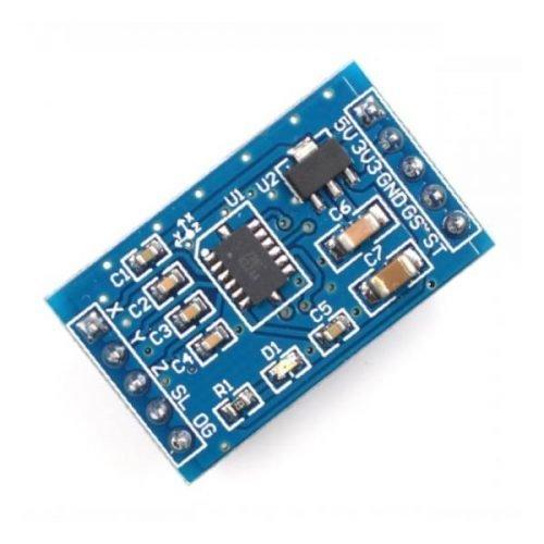 MMA7361 Acelerómetro analógico 3 ejes
