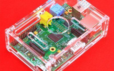 Carcasa para Raspberry Pi