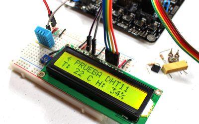 Sensor DHT11 con PIC