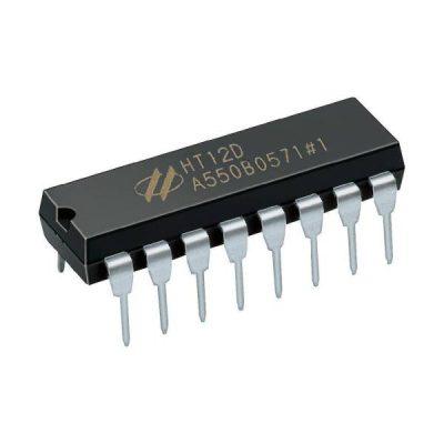 HT12D Circuito integrado decodificador