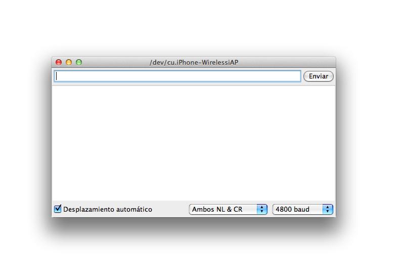 Configuración del Monitor Serial de Arduino para trabajar con el HC-05