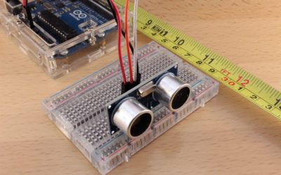 HC-SR04 con Arduino: Sensor de distancia ultrasónico