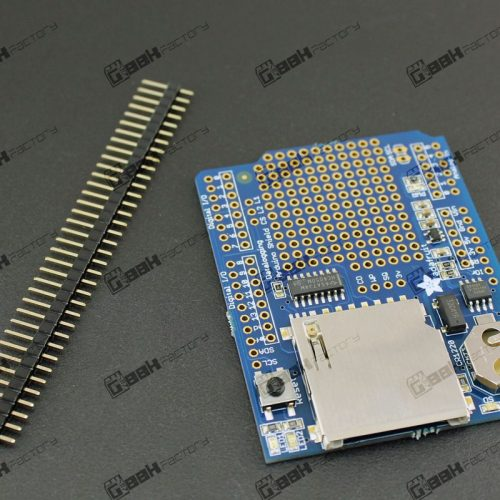 Shield data logger para Arduino