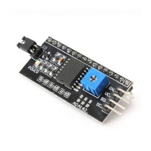 Adaptador pantalla LCD 16x2 serial I2C PCF8574
