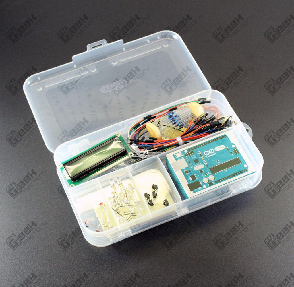 Geek starter kit con arduino uno r original factory