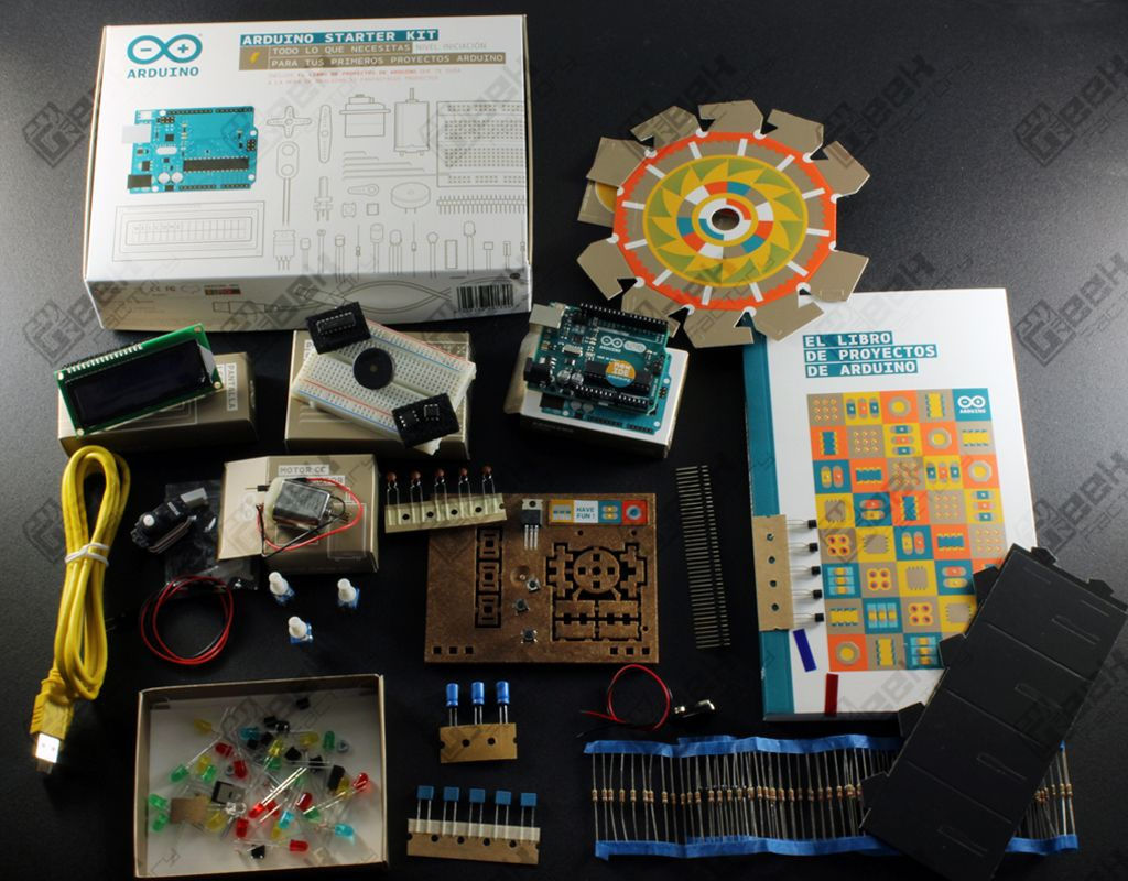 Arduino starter kit original español geek factory