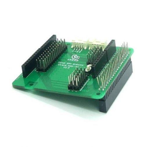 Hat Raspberry Pi adaptador de shields Arduino