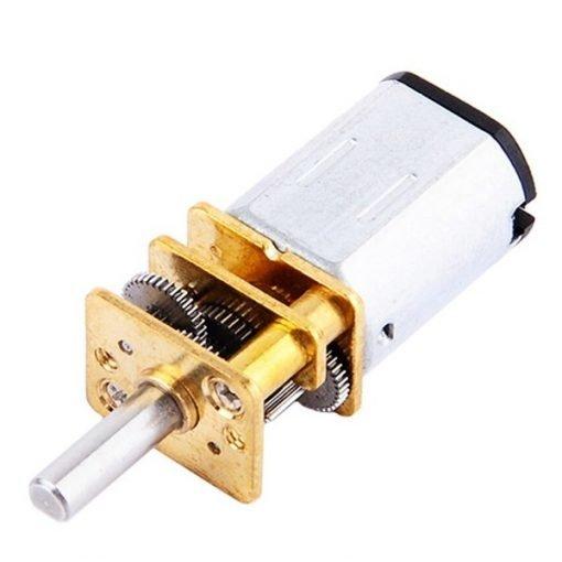 Micro motorreductor metálico