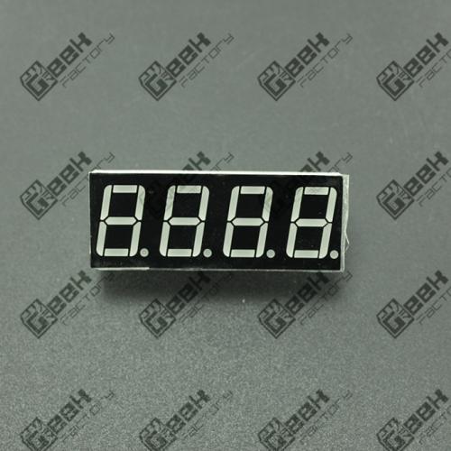 Display 7 Segmentos 4 Dígitos