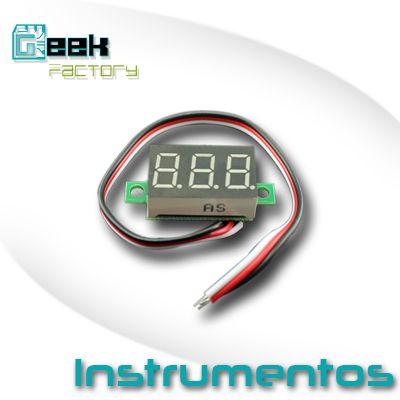 Instrumentos de panel y multímetros