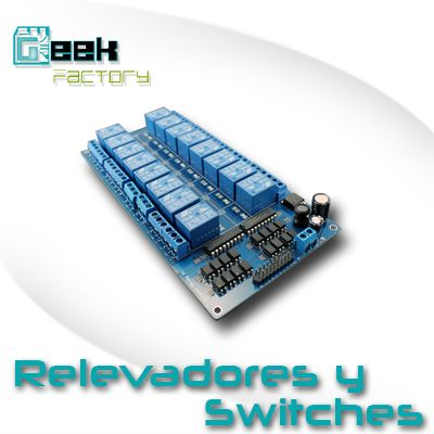 Relevadores y Switches