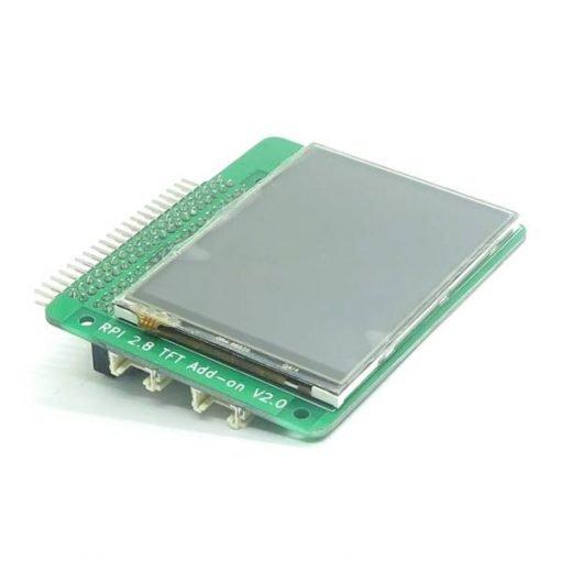 Hat Raspberry Pi pantalla LCD táctil 2.8 pulgadas Itead