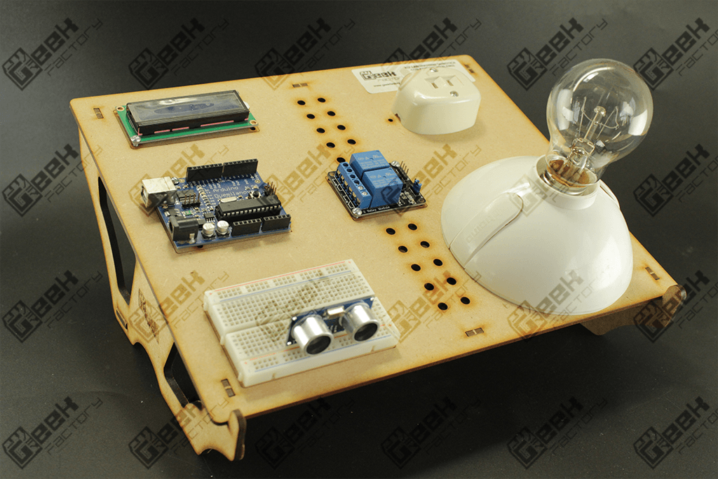 Kit para curso de domótica con arduino geek factory