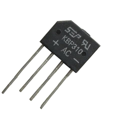 Transformadores KBPC-1010 Puente Rectificador de Diodos 1A 1000V Accesorios de alimentaci/ón