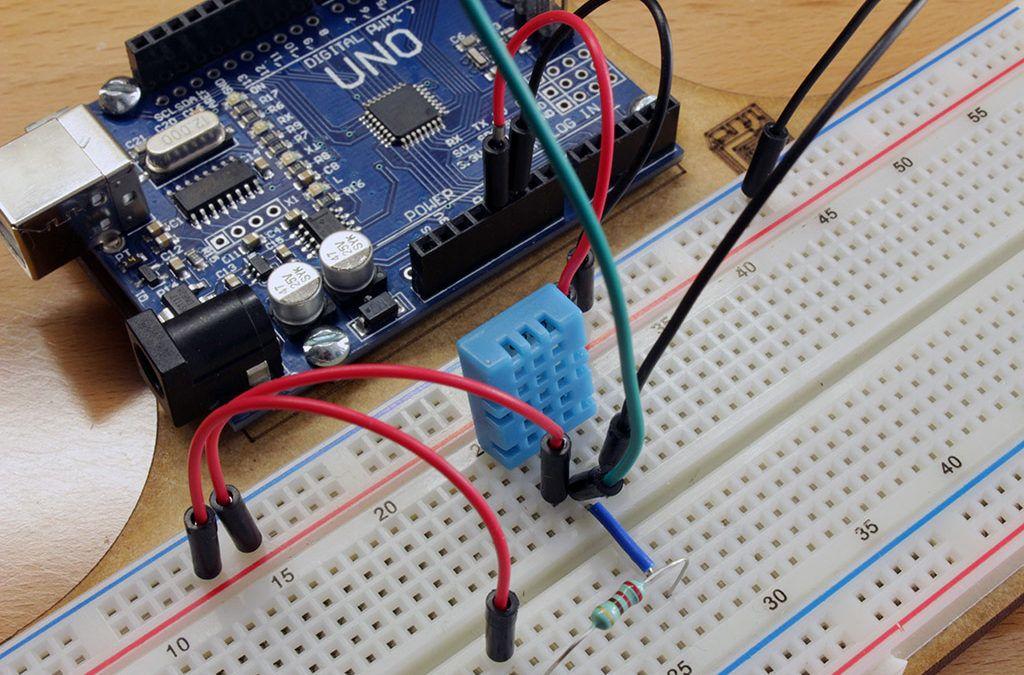 Dht con arduino sensor temperatura y humedad geek factory
