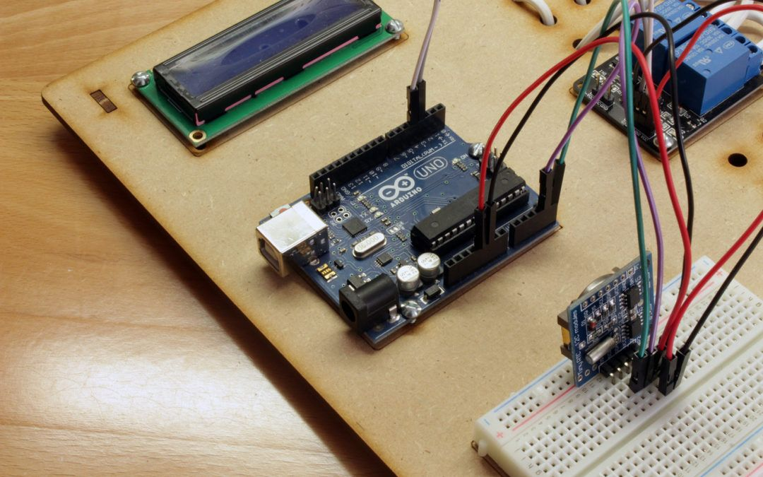Programación de eventos con arduino y rtc geek factory