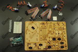 Kit Completo Brazo Robótico meArm para Arduino Original