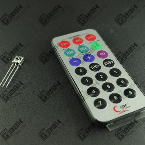 Sensor Infrarrojo con Control Remoto