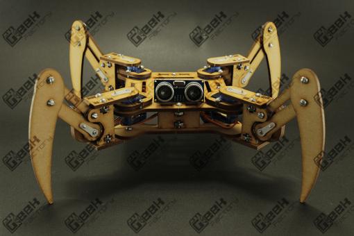 Corte Láser. Kit Robot Cuadrúpedo Geek Factory