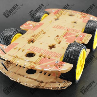 Chasis Doble Carro Seguidor de Línea
