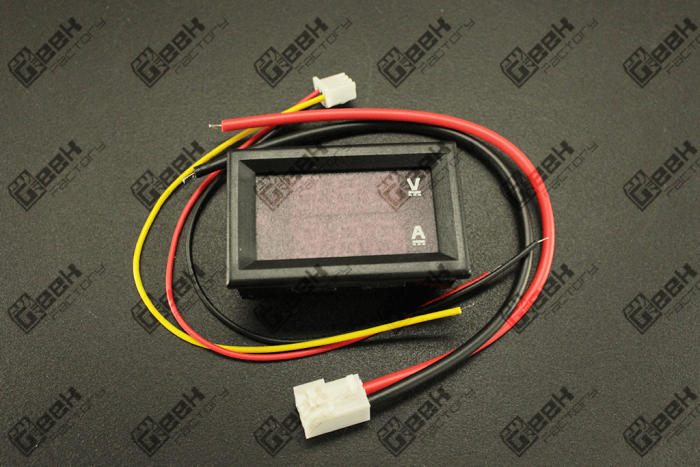 Voltímetro Amperímetro Digital