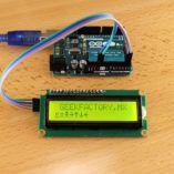 LCD 16×2 por I2C con Arduino usando solo dos pines
