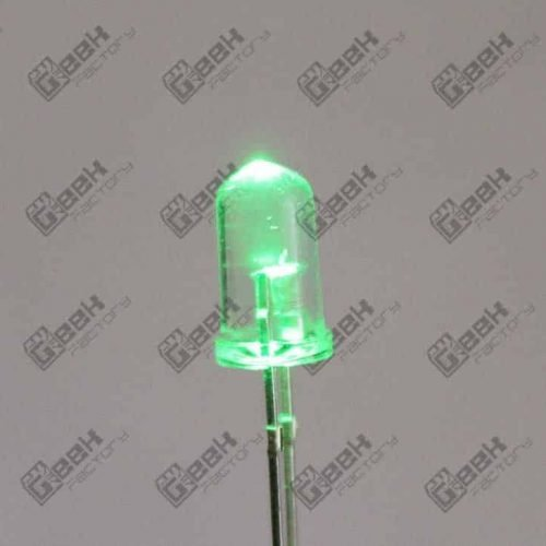 led verde ultra brillante