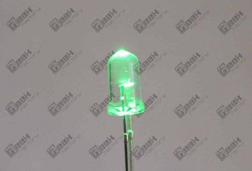 led verde ultra brillante